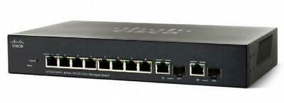 Cisco SF302-08P 8 port 10/100 managed PoE switch - used