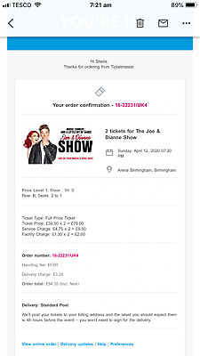 The Joe And Dianne Show In Birmingham