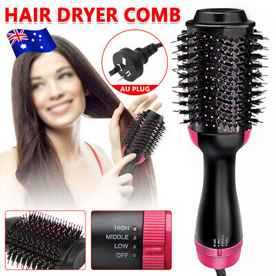 3 in 1 Pro Collection Salon One-Step Hair Dryer and Volumizer Oval Brush Design