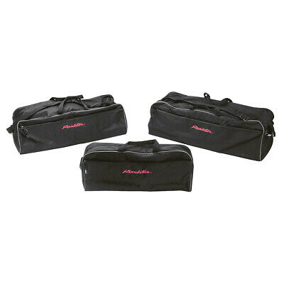 Mazda MX5 Mk3 Luggage bag set 3piece Black / Red Roadster logo Nylon outer shell