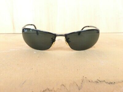 Details about VTG 2 Ray Ban RB 3179 Gunmetal & 3183 Top Bar Silver Sunglasses Need New Lenses