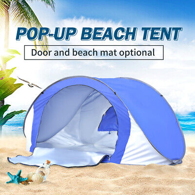 Pop Up Camping Tent Beach Portable Hiking Sun Shade Shelter Fishing Outdoor New
