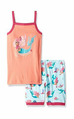 Hatley Girl's Pyjama Sets 5 Years Organic Cotton Tank Top Pyjama Sets