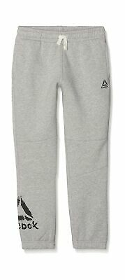 Reebok Boys' B Elem Fleece Pant Trousers, Brgrin, XS