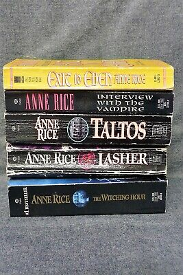 5 Book Lot - Anne Rice (Horror Fiction (Mayfair Witches, etc.)) MMPB