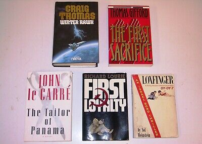 5 Book Lot - Thriller (Thomas Gifford, John le Carre, Sol Weinstein, etc.)