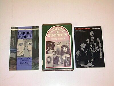 3 Book Lot - Sociology (Women, Subjection of Women, etc.) (Bell, Harrison, Mill)