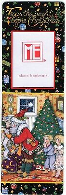 Pooch & Sweetheart Mary Engelbreit Photo Bookmark (the night before Christmas)