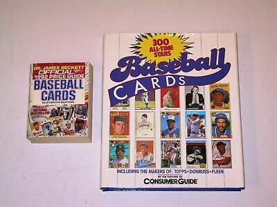 2 Book Lot - Collecting Baseball Trading Cards (Beckett, Consumer Guide) HC, SC