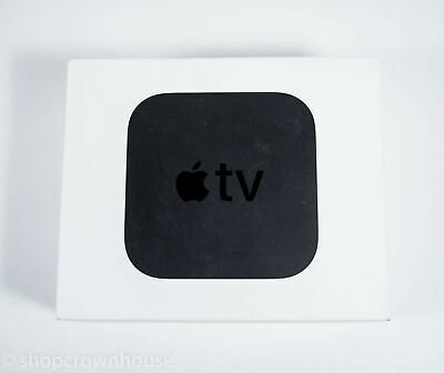 1 Apple TV Media Streamer - 5th Generation 4K HDR 64 GB Netflix Prime Video Hulu