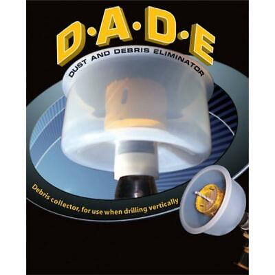 Dust and Debris Eliminator (DADE) - Collect dust while drilling with a holesaw