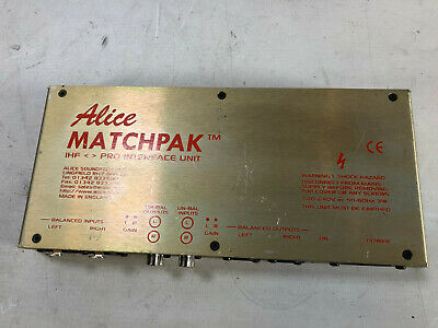 Alice Matchpak IHF Pro Interface Unit