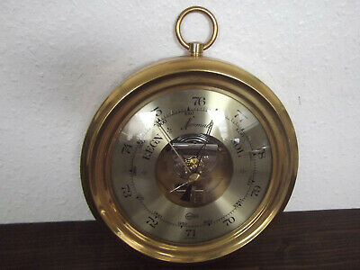 Dekoratives Altes Schiffs-Barometer, Barigo, Made In Germany  #7885
