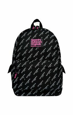 Superdry Women's Print Edition Montana Backpack White (Mono Aop K2c)