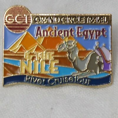 Camel Collectible Pin: Grand Circle Travel Ancient Egypt The Nile River Cruise