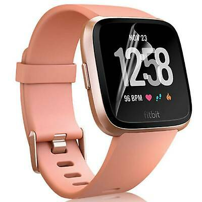 FULL COVER Screen Protector Guard Saver Shield Film For Fitbit Versa 2 (2019)