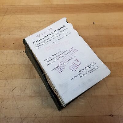 Industrial Press Inc. Machinery's Handbook 18th Edition, 2293 Pages - USED