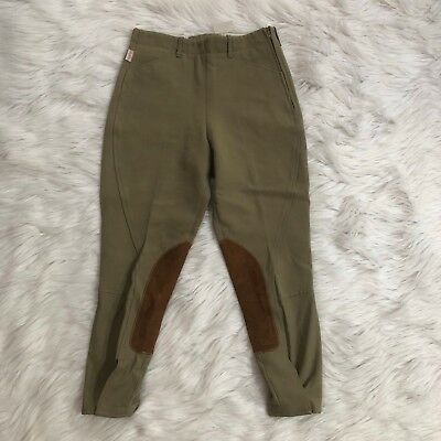 The Tailored Sportsman Riding Habits Youth Sz 14 Olive Green Riding Breeches NEW