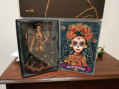 Barbie Dia De Los Muertos(Day of The Dead) Doll On Hand, READY TO SHIP!