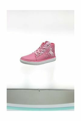 Hatley Girls' High Top Sneakers Hi Trainers, Pink (Sparkle Horse 650), 13 (32...