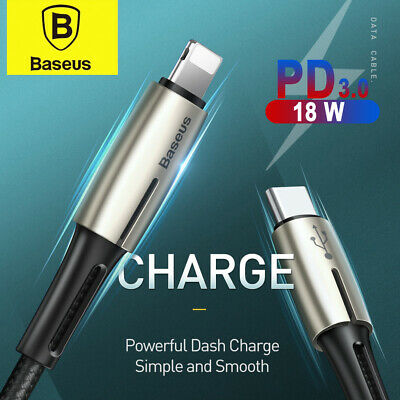 Baseus 18W PD USB Type C to USB Cable Quick Charging Charger Cable Data Cabel