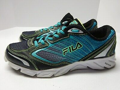 WOMENS FILA FRESH running shoes size 9.5 gray purple