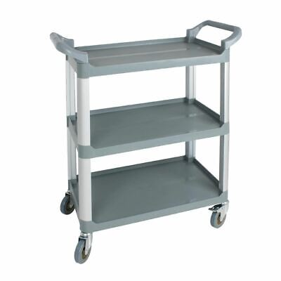 Nisbets Essentials Polypropylene Compact Mobile Trolley 965 x 800 x 420mm