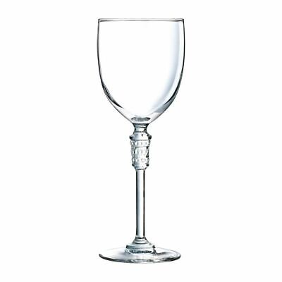 Arcoroc Cristal dArques Bracelet Wine Crystal Glasses 250ml - Pack of 12