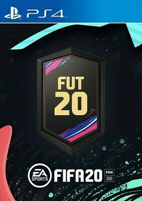 FIFA 20 - Gold Pack DLC Code PS4 Rare FUT