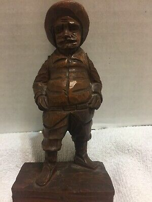 Sancho Panza Ouro Artesania Made In Spain Carved Wood Figures