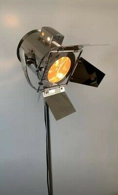 Film Style Can Floor Lamp Light