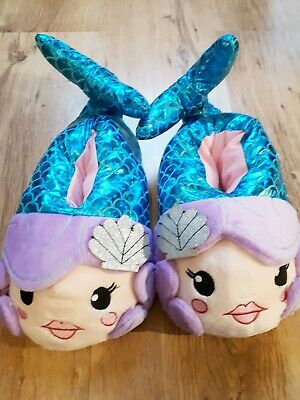 Topshop Womens Girls Mermaid Slippers Size Small Brand New
