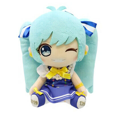 Vocaloid Hatsune Miku Birthday 2019 Ver. Wink Character Prize Plush Doll Toy