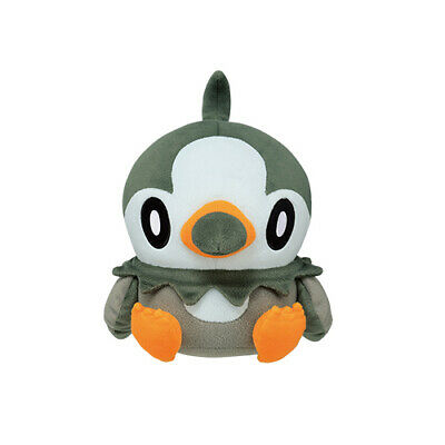 """Pokemon Starly Color Series (Black) 9"""" Character Super DX Plush Toy Soft Doll"""