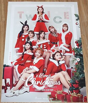 TWICE TWICECOASTER LANE 1 3rd Mini Album Christmas Edition  POSTER