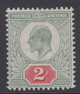SG 225 2d Yellow Green & Carmine Red M11 (1) in average mounted mint condition .