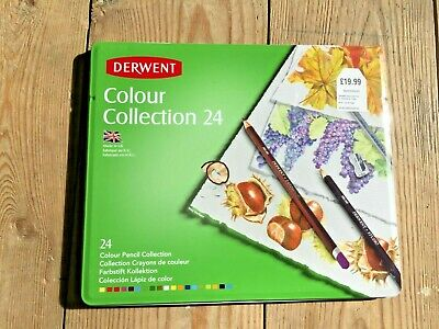 Derwent Colour Collection Tin Set of 24