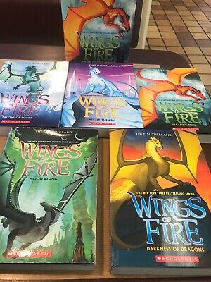 Wings of Fire Book Boxed Set 2-6 Tui T. Sutherland