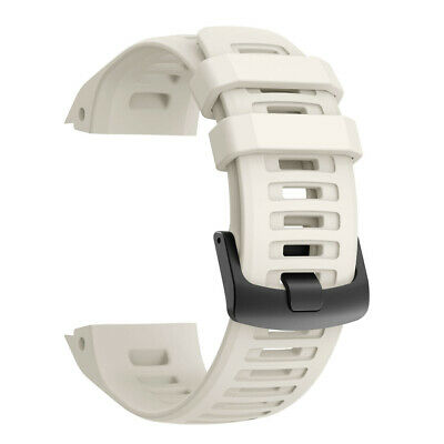 22MM Solid Color Silicone Strap Watch Band For Garmin Instinct Replacement