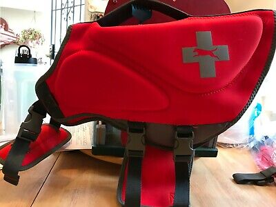 Neoprene Life Jacket Large- red