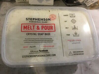 Goats Milk 1kg Melt and Pour Soap Base - Soap Making and Craft