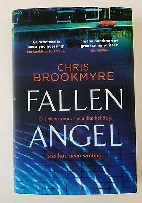 FALLEN ANGEL - Chris Brookmyre NEW Crime HB First Edition