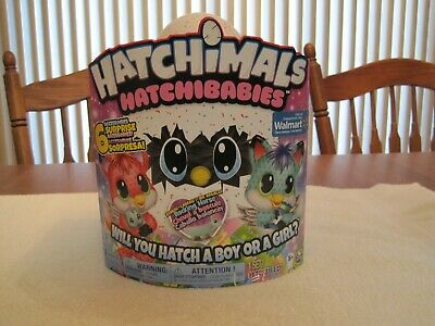 "Hatchimals Hatchibabies Boy Or Girl ""Foxfinn""--Walmart Exclusive--New"