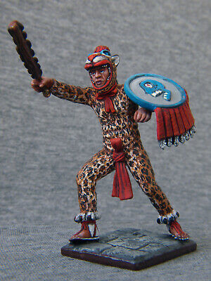 Aztec Eagle Warrior 54mm 1//32 Tin Toy Soldier MiniatureCollectible Quality