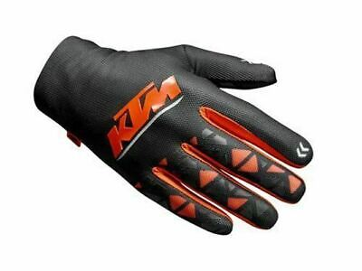 KTM Gravity-FX Gloves MX Motocross Black Orange, Genuine KTM. Quick Dispatch