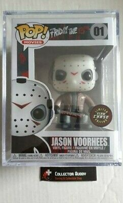 Limited Glow Chase Funko Pop! Movies 01 Friday the 13th Jason Voorhees Pop Vinyl