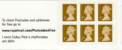GB 2009-2013 Security Machin Stamp NVI Booklets, 1st & 2nd MB, ME & MF Series.