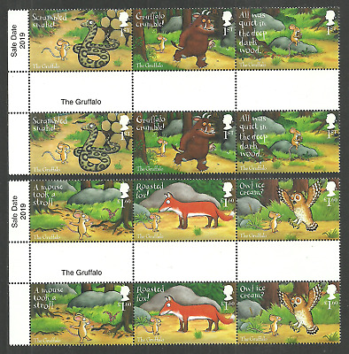Gb 2019 The Gruffalo Birds Owls Wildlife Animation Gutter Pairs Mnh