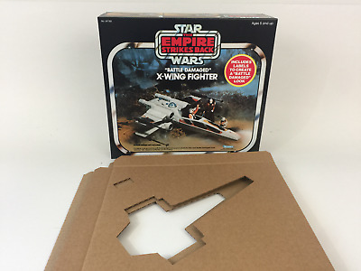 brand new rotj luke skywalker laser pistol box and inserts
