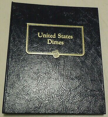 Roosevelt Dimes 1965-2007 P D W BU 84 Coin Set Collection in New Whitman Album